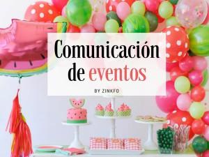 Comunicación de eventos