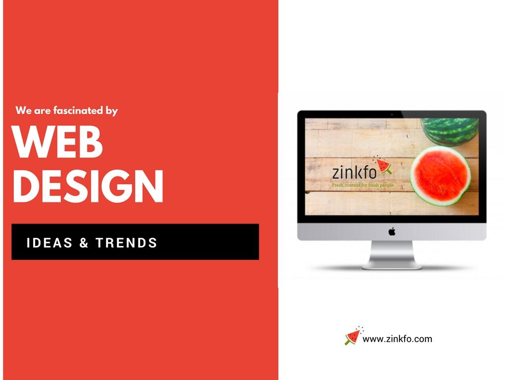 Tendencias e diseño web
