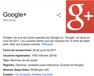 Qué es Google Plus