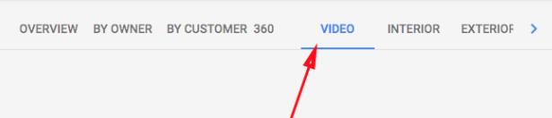 pestaña videos google