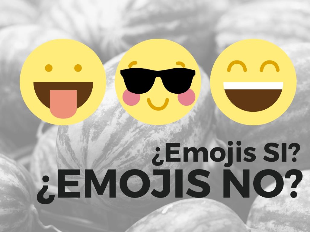 Motivos para usar emojis en redes sociales