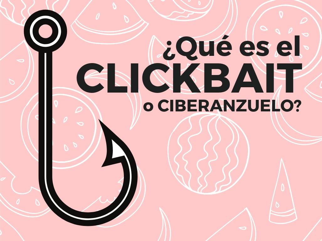 Tecnica del clickbait o ciberanzuelo