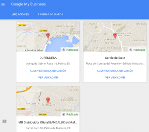 ubicaciones google my business