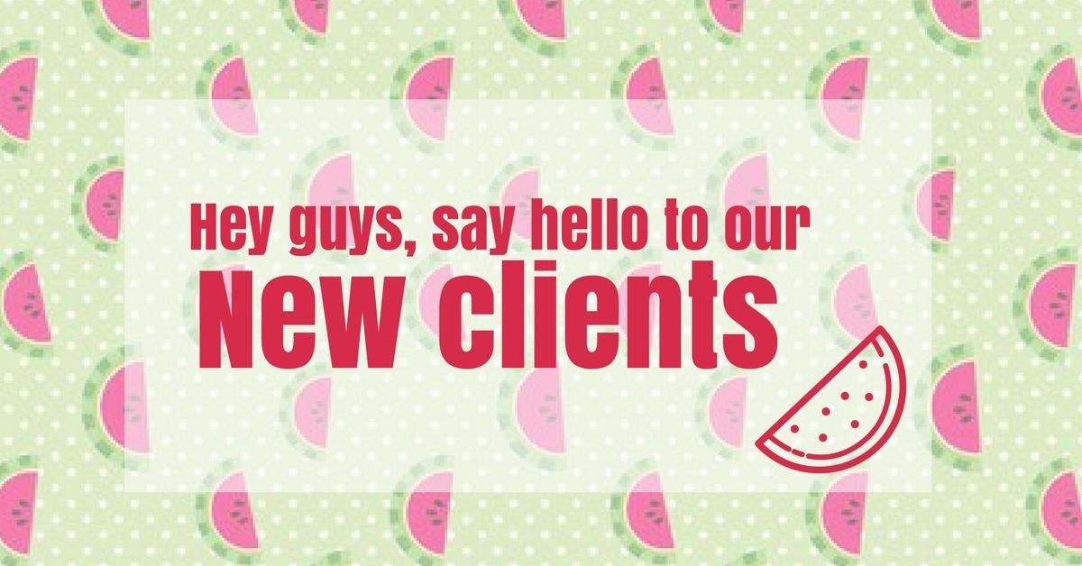 Nuevos clientes Zinkfo