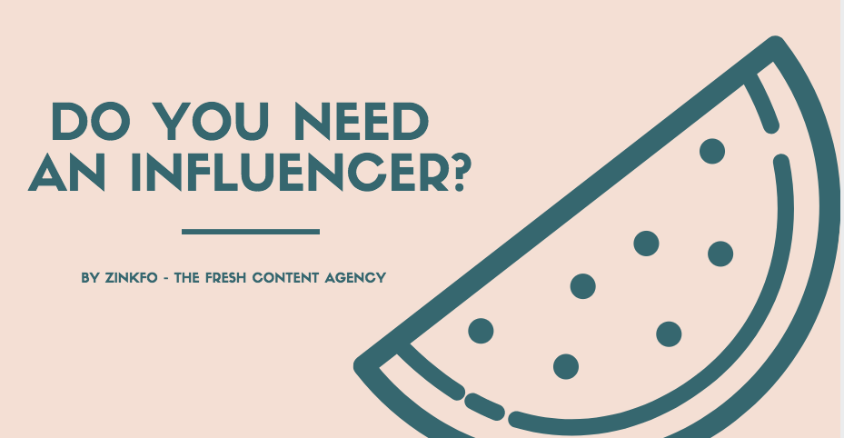 contratar un influencer