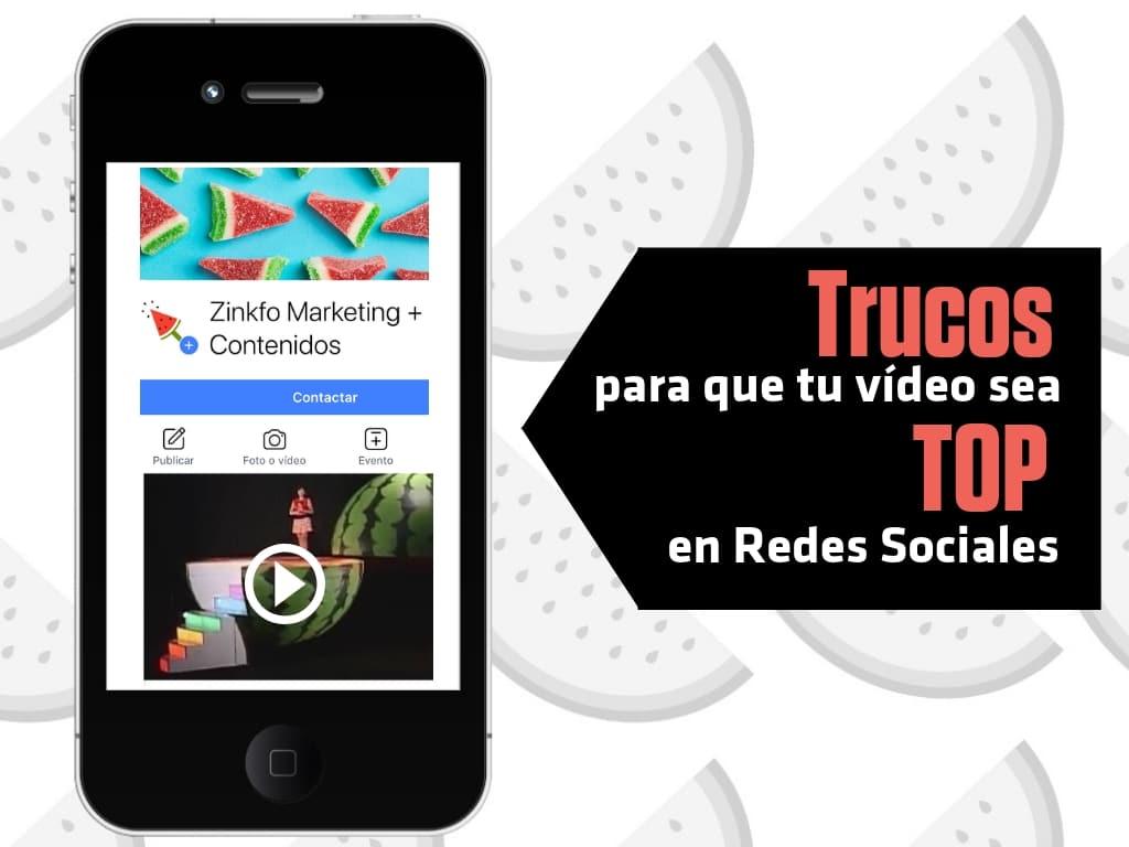 Elementos claves para que tu vídeo sea TOP en redes sociales