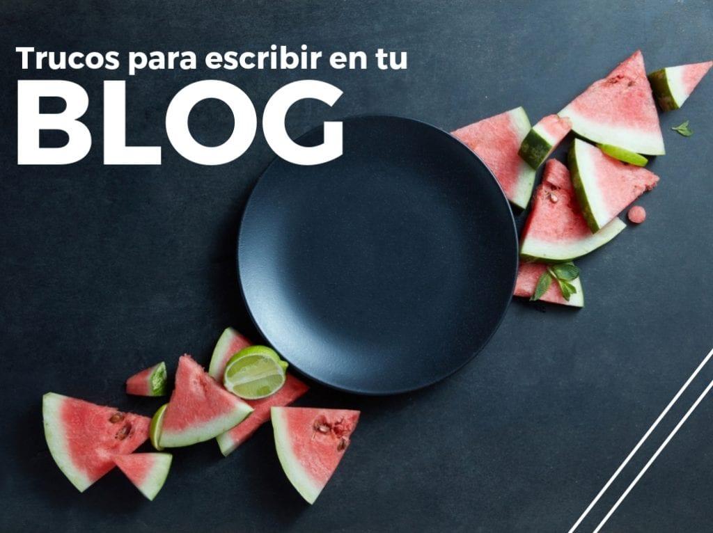 escribir blog de empresa
