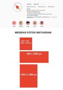 Formatos de foto para Instagram