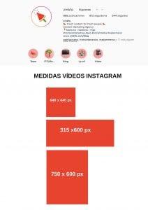 Formatos de vídeo para Instagram