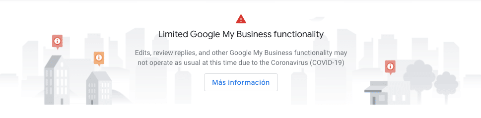Google My Business COVID19