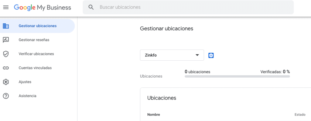 gestionar ubicaciones Google My Business
