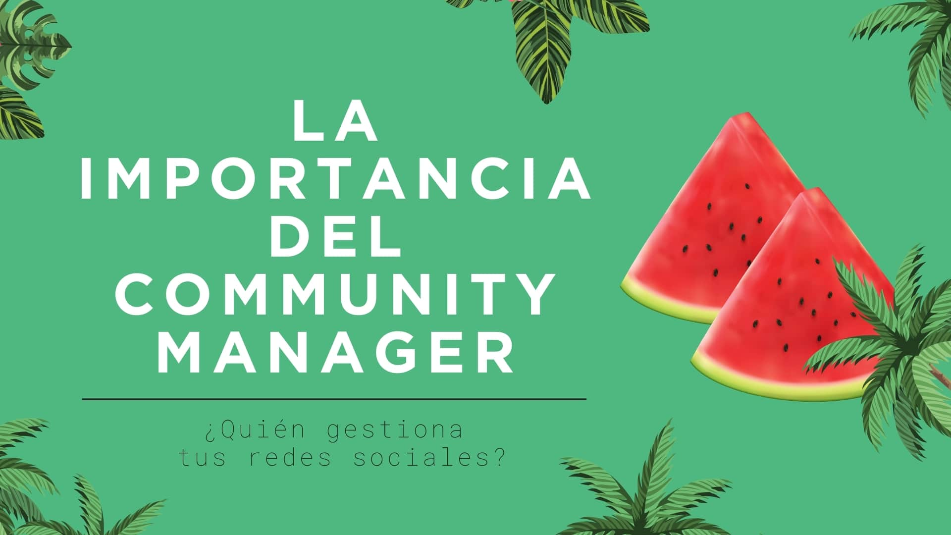 community manager mallorca